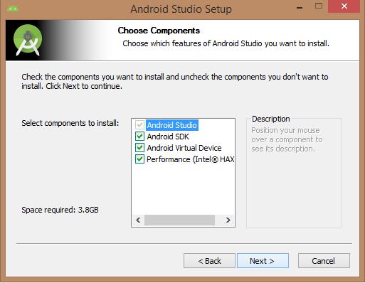 دانلود اندروید استودیو Download Android Studio - خانه اندرویدآموزش نصب اندروید استودیو مرحله چهارم