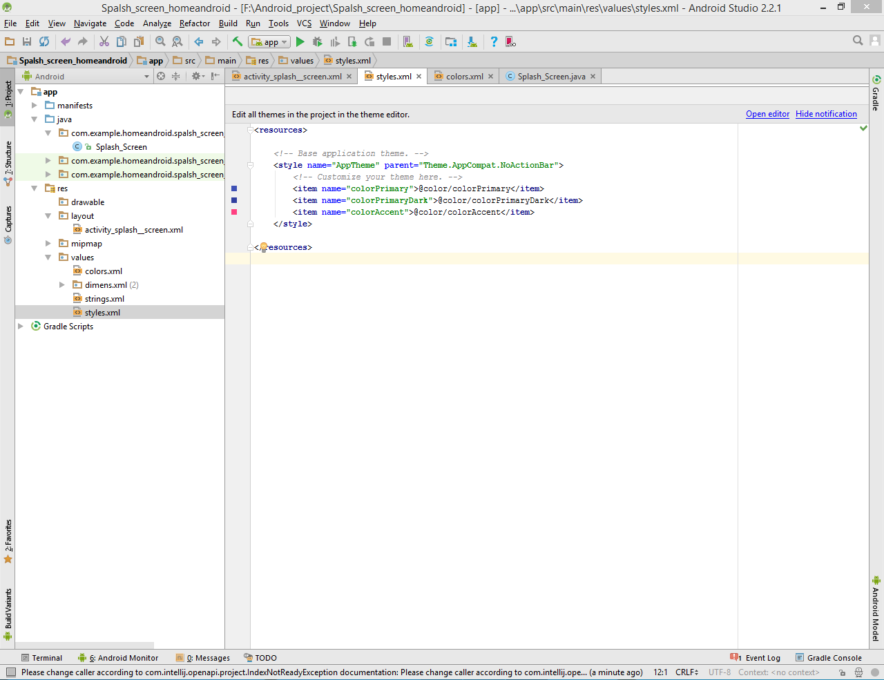 sourch code java android studio