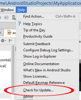 Update Android Studio 2.3.3