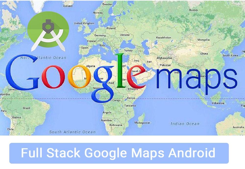 متخصص گوگل مپ Google Maps شوید اندروید استودیو