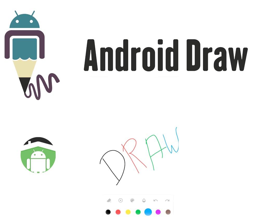 کتابخانه اندروید AndroidDraw نوشتن متن توسط کاربر