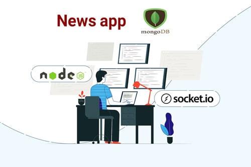 آموزش socket Node js mongodb پروژه محور