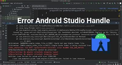 خطا برنامه نویسی اندروید Error Android studio